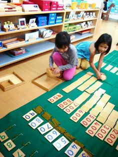 Montessori on Mars: Myriad Math