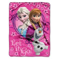 Disney Frozen Microfleece Throw #Frozen Disney
