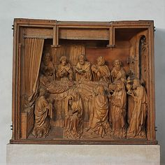 The Death of the Virgin (The Dormition) Workshop of Tilman Heysacker  Date: late 15th century