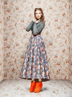 Ulyana Sergeenko Fall/Winter 2011/12 lookbook on Vogue