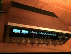 POWERFUL Vintage Sherwood Stereo Receiver by AntiqueApartment