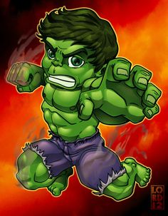 Lil Avengers - Hulk by *lordmesa