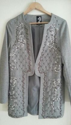 Superstar Blazer jasje met parels