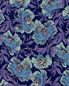 William Morris Florals - marisahopkins.com