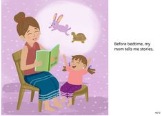 Mothers Day Book, Mothers Love, Mother's Day Story, English Activities For Kids, Short Stories For Kids, Moral Stories, Free Books Online, I Love Mom, Bedtime Stories