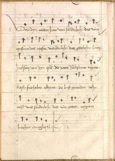 Sequentia 'Ave praeclara', Teutonicis verbis Erffordie compillatus 1492  Cgm 7351  Folio 10