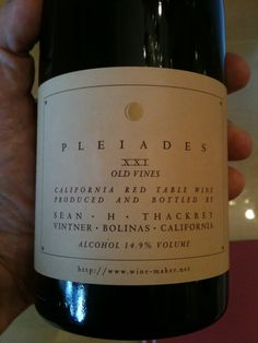 Sean Thackrey Pleiades XXI Old Vines - Read the Review Here!: http://vinopete.com/sean-thackrey-pleaides-xxi-old-vines    Join us for #VinoChat Thursday 9pm Eastern Time (6pm Pacific) weekly.: http://vinopete.com/vinochat/