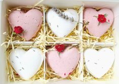 Sweetheart bath bombs are the perfect gift for any occasion. And make a lovely treat for someone special or just to treat yourself :)  This Listing