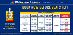 PALExpress Cebu Promo for as Low as P1811 One-way, All-In Fare