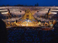 Aida in the Arena di Verona