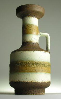 West German Pottery Modernistic 20th Mid Century Vintage Retro Ceramics Kitsch