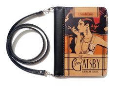 """mymodernmet: """"Illustrated Book Clutches Offer a  Stylish Way to Celebrate Your Favorite Novel """"  Kabelka"""