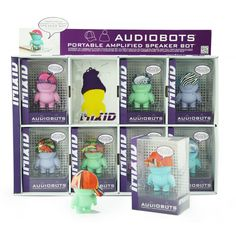 IMIXID AUDIOBOTS 3.0 SPEAKER BOTS- PREPACK 05 PASTEL (#Mint, #Lavender, #Pink, #Blue) #Audio #Audiobots #Speaker #Speakerbots #MusicPlayer #SmartPhone