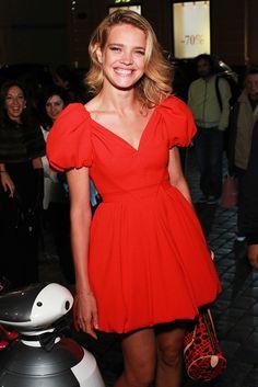 Vogue Fashion`s Night Out 2012 Best Looks: Наталья Водянова