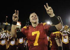 Is USC QB Matt Barkley too nice for the NFL?