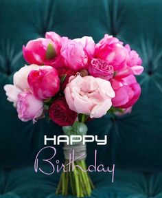 Happy Birthday Quotes For Friends, Happy Birthday Wishes Cards, Happy Birthday Pictures, Happy B Day, Birthdays, House, Birthday Cards, Happy Birthday, Flowers
