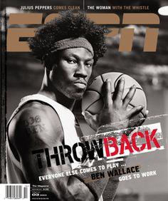 ESPN 2007 Cover    Throwback - Ben Wallace