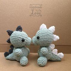 Crochet Baby Toys, Crochet Toys Patterns, Crochet Animals, Amigurumi Patterns, Stuffed Toys Patterns, Knit Crochet, Crochet Ideas, Nursery Crafts, Crochet Dinosaur