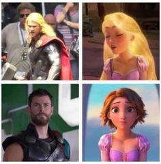 Just 100 Freaking Hilarious Memes About The Marvel Movies - Funny Superhero - Funny Superhero funny meme - - Yes! Hilarious Rapunzel and Thor Comparisons! The post Just 100 Freaking Hilarious Memes About The Marvel Movies appeared first on Gag Dad. Avengers Humor, The Avengers, Marvel Jokes, Films Marvel, Funny Marvel Memes, Marvel Dc Comics, Thor Meme, Marvel Art, Thor Jokes