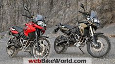 2013 BMW F 700 GS and F 800 GS