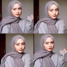 Hijab Fashion Summer, Korean Girl Fashion, Modern Hijab Fashion, Hijab Fashion Inspiration, Muslim Fashion, Retro Fashion, Hijab Turban Style, Hijab Style Dress, Casual Hijab Outfit