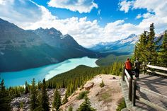 For a trip heavy on outdoor adventure and natural discoveries, hop in a car and journey through the Canadian Rockies.