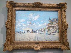 Claude Monet - Planches de Trouville