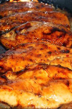 Italian Dressing Caramelized Chicken - Cocina Adicto