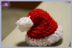 Come fare il cappello di Babbo Natale - 101 Cose Tapestry Crochet, Knit Crochet, Premature Baby, Xmas, Christmas, Lana, Cool Stuff, Knitting, Album