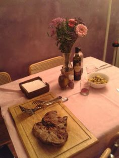 LIVING IN LOVE STREET: Come fare una cena romantica con in casa un bambin...