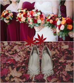 Perfekte Herbst Hochzeit Dekoration Ideen 2013