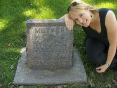Mary Rydberg headstone, Aunt Phyllis', Grandma