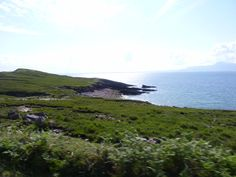Green Shores and Blue Sea on Achill Island.