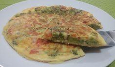 Crepioca com Brócolis, Tomate e Queijo - Na Biroskinha