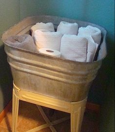 Antique Galvanized Wash Tubs Vintage Galvanized Double