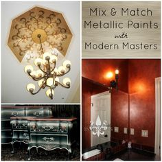 Projects Mixing Metallic Paints by Modern Masters