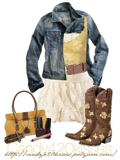 """Boot's, Class and a lil Sass Contest"" by candy420kisses on Polyvore"