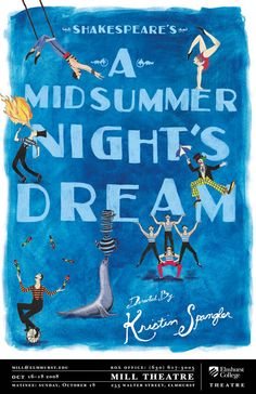 A Midsummer Night's Dream. Elmhurst College Theatre