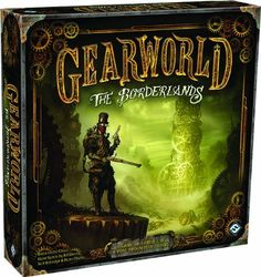 Gearworld The Borderlands Board Game by Fantasy Flight Games