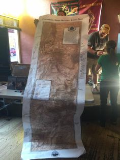 Crunchmaster's 2016 Continental Divide Trail Photos : Large map of entire trail