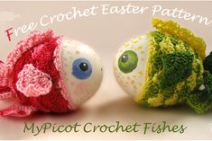 MyPicot | Free crochet patterns...cute idea for painted rocks! ..free pattern!