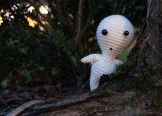 Kodama, personaje de La princesa Monoke / http://mybackyardmonsters.tumblr.com/post/39352047927/kodama-pattern