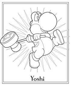 Jimbos Coloring Pages Great Source For Mario FREE