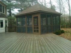 Building Screened Gazebo Screened Gazebo Plans Porch