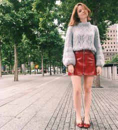 Ganni street style   Alice Bel   Faucher Pullover