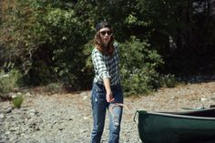 I'm on a Boat!- Flannel Foxes Tomboy Fashion Blog