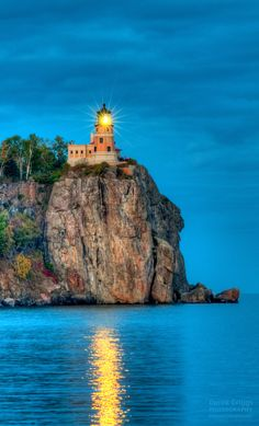 ✯ Split Rock Lighthouse, Split Rock State Park, Minnesota