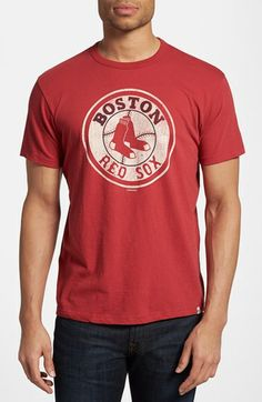 47 Brand 'Boston Red Sox - Flanker' Graphic T-Shirt available at #Nordstrom