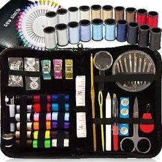 a kit de costura mas de 120 fuentes de coser premium 38 carretes de hilo pins clip de viaje
