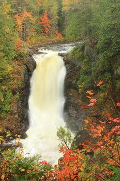 Moxie Falls in Autumn - Massachusetts